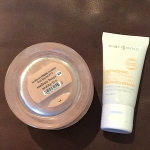 Bundle Bare minerals large jar and Clarisonic